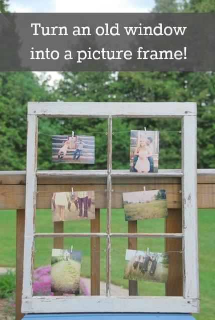 How To Make a Wedding Seating Chart with a Vintage Window - THE