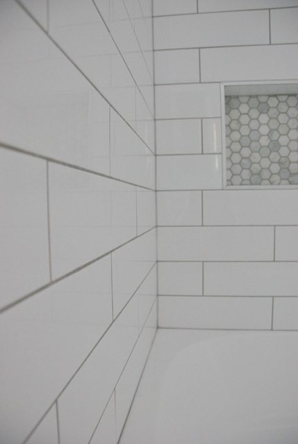 When Does Ikea Close Shower Design With Subway Tile And Marble Tile Niche - The