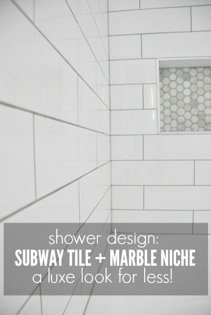 What Time Does Ikea Close Shower Design With Subway Tile And Marble Tile Niche - The