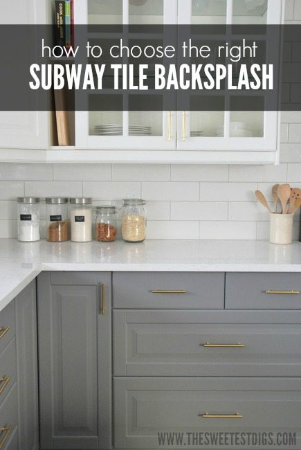 choose subway tile backsplash kitchen kitchen subway tile backsplash classic sweetest digs