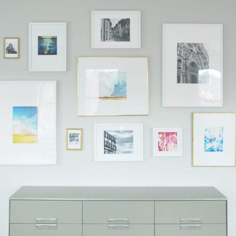 Artistic Ikea How To Make Diy Photo Mats Less Than Est Digs Frames ...