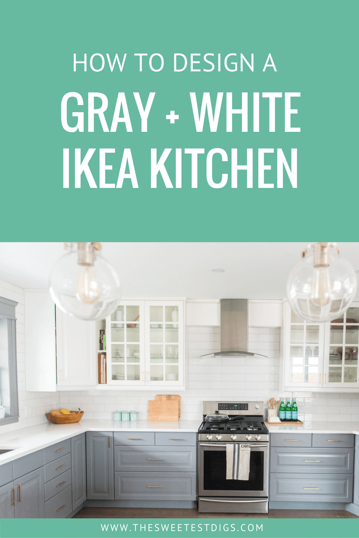 Ikea Kitchen Design Forum A Gray And White Ikea Kitchen Transformation The Sweetest Digs