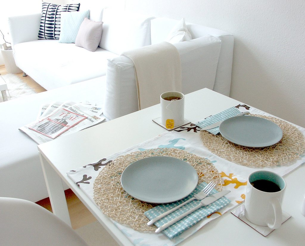 Modern Table Setting Modern Apartment Style Table Setting Ideas Modern Wedding