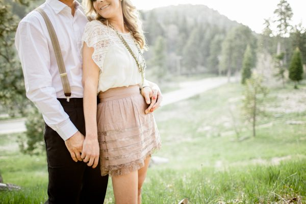 Engagement photo ideas spring in lake arrowhead the