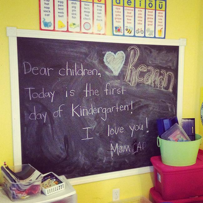 Kindergarten Homeschool, Week one! The Sweet Life of Reagan, Emmy