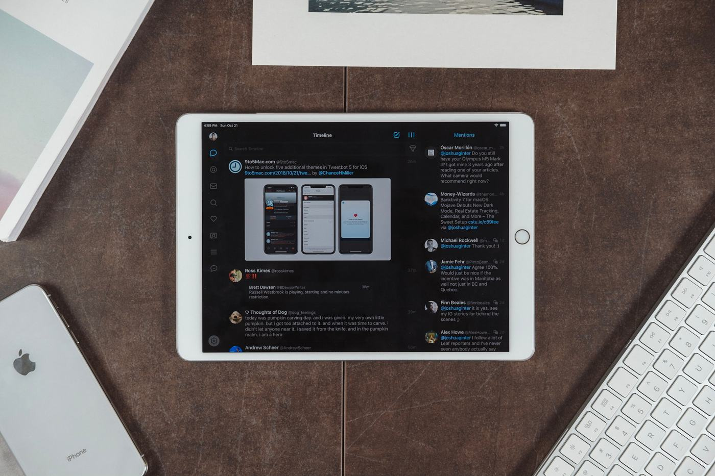 Einrichten Design App The Best Twitter App For Ios The Sweet Setup