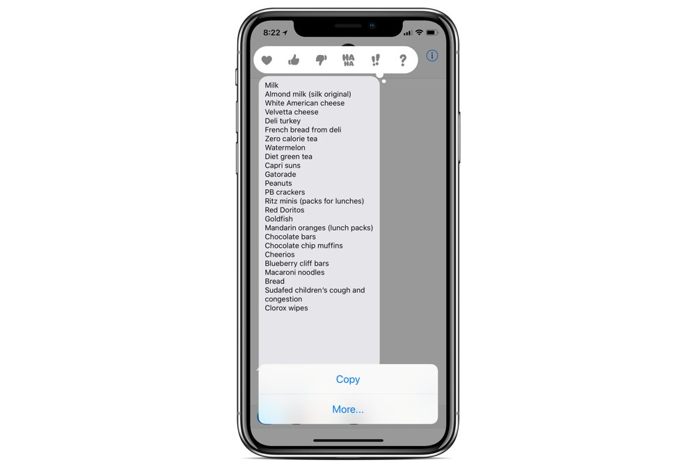 How to convert a message into a checklist in Apple Notes \u2013 The Sweet