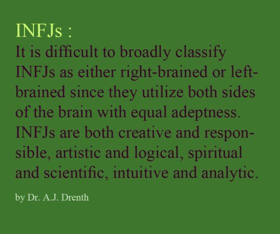 An Examination Of My Personality Result Infj