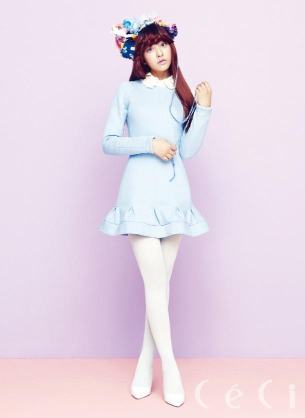 Girl Boy Wallpaper Park Shin Hye And Park Se Young Ceci Feb 2013 The