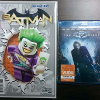 October 2015 Giveaway - Batman #36 LEGO Variant & The Dark Knight Blu-ray