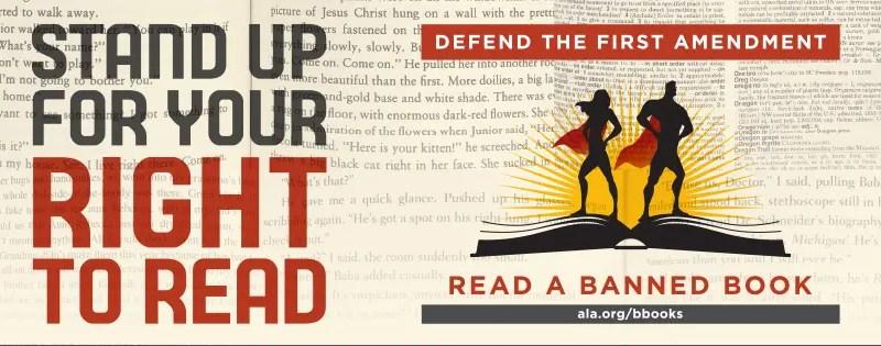 Banned Books Week 2016 – And Free Stuff!