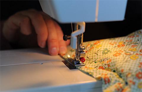 Ricebag-sew