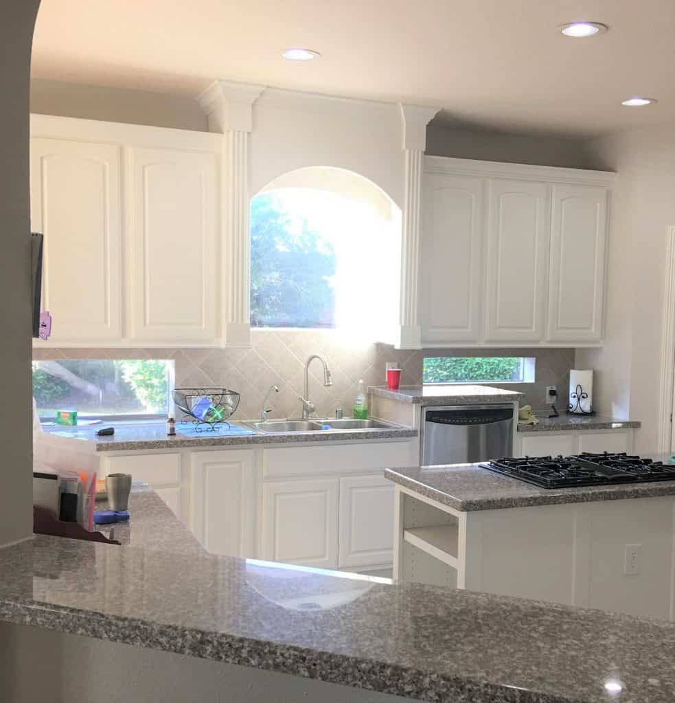 5 Tips Painting Dark Kitchen Cabinets White And The Mistakes I Made