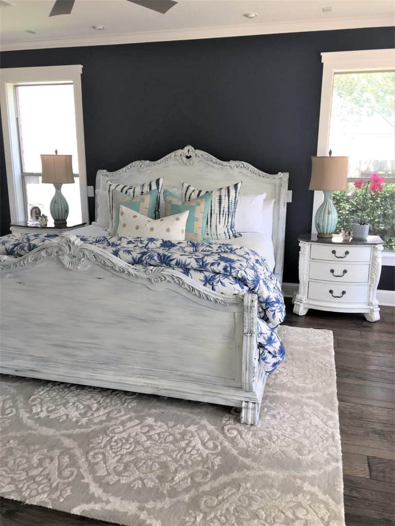 Home Tour Coastal Farmhouse Master Bedroom Thetarnishedjewelblog