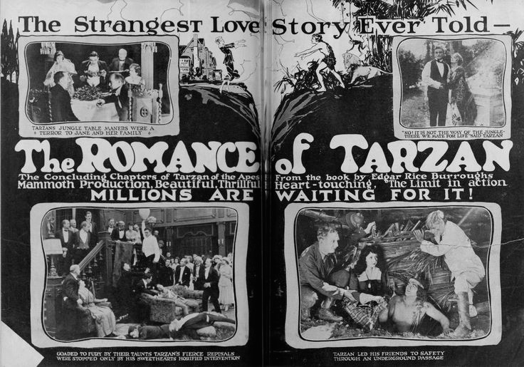 Romance of Tarzan ==