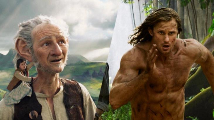 BFG and Tarzan