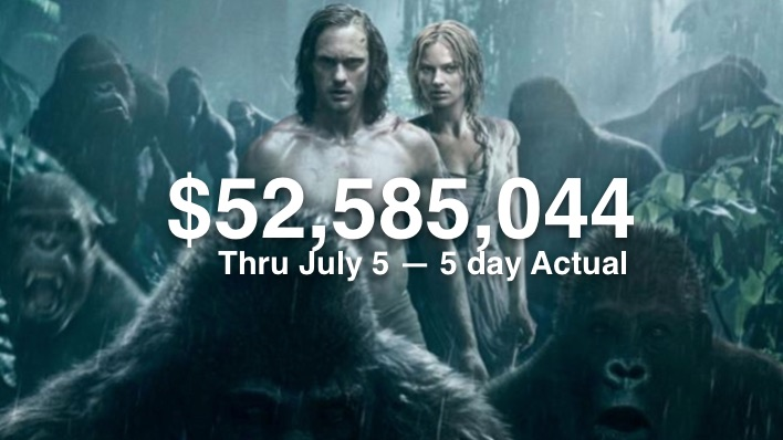 Legend of Tarzan 52m