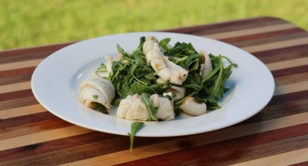 Grilled Squid Recipe by John Torode
