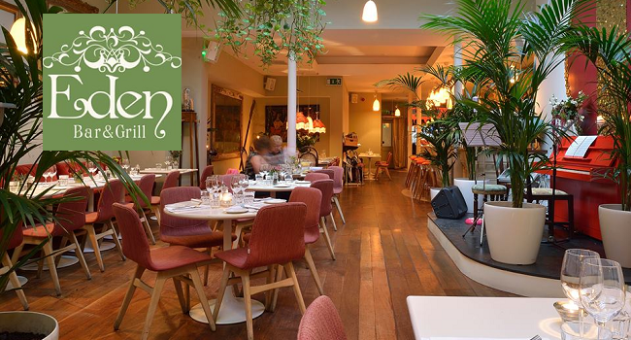 Be Tempted by a 3 Course Dinner and a Cocktail Each at Eden Bar & Grill on South William St for €49