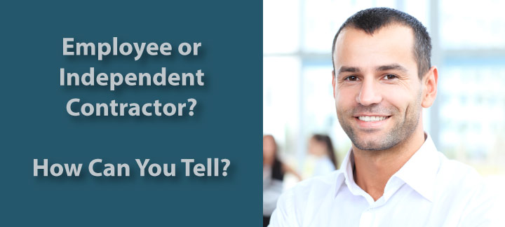 Employee or Independent Contractor For Tax Purposes? - employee or independant contractor