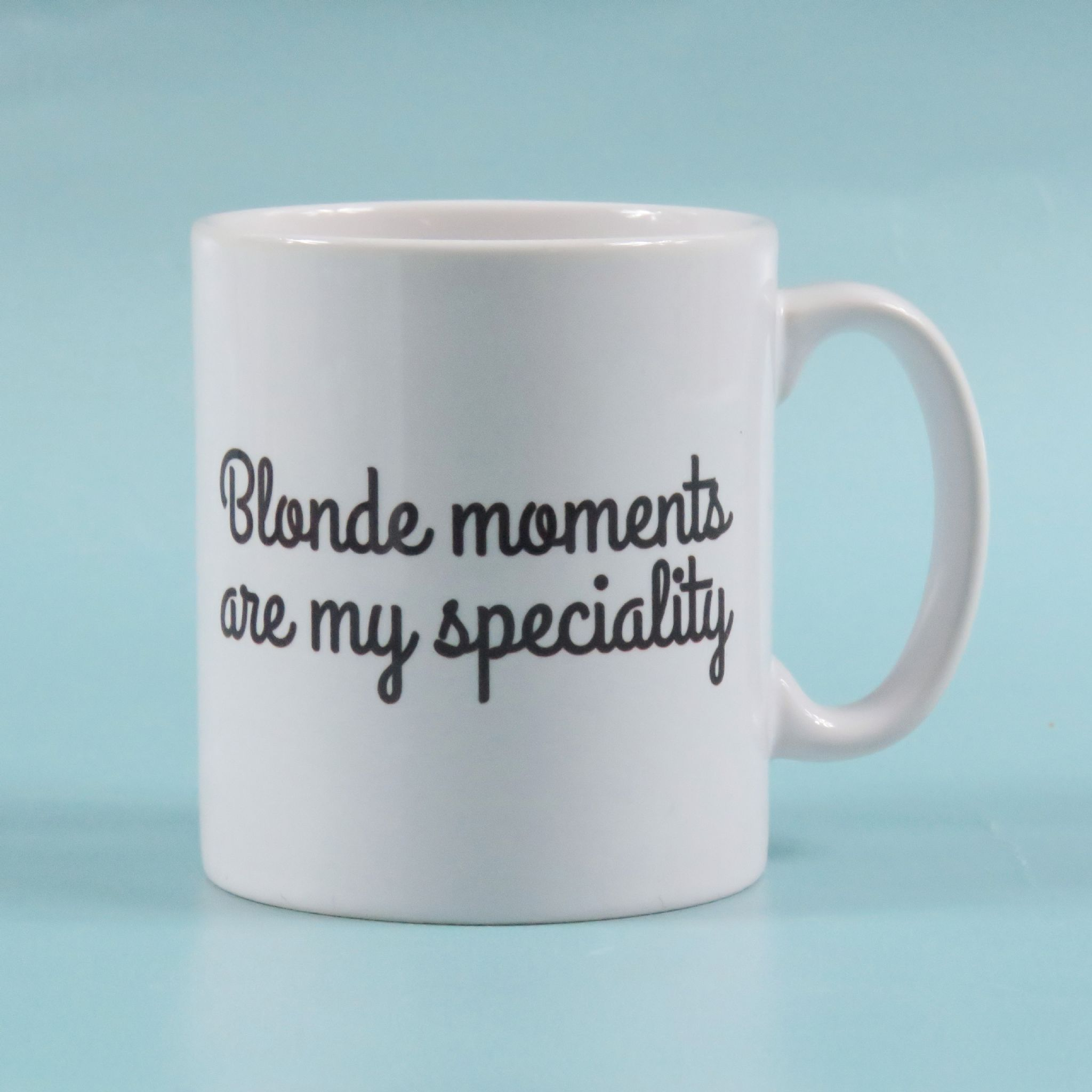 Speciality Coffee Mugs Blonde Jokes Are My Speciality Coffee Mug Tea Cup Funny