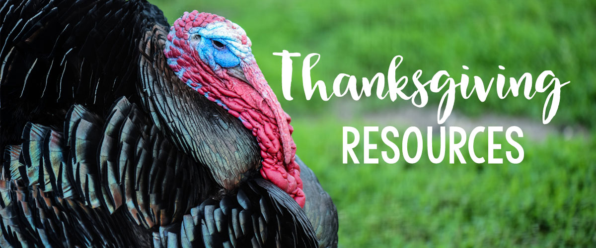 Thanksgiving Resources for the Classroom