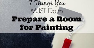 7 Things You Must Do to Prepare a Room for Painting