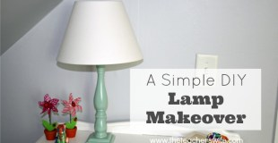 How to Transform an Old & Outdated Lamp