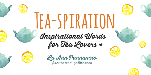 Announcing Tea-spiration: My First Book + Pre-Order