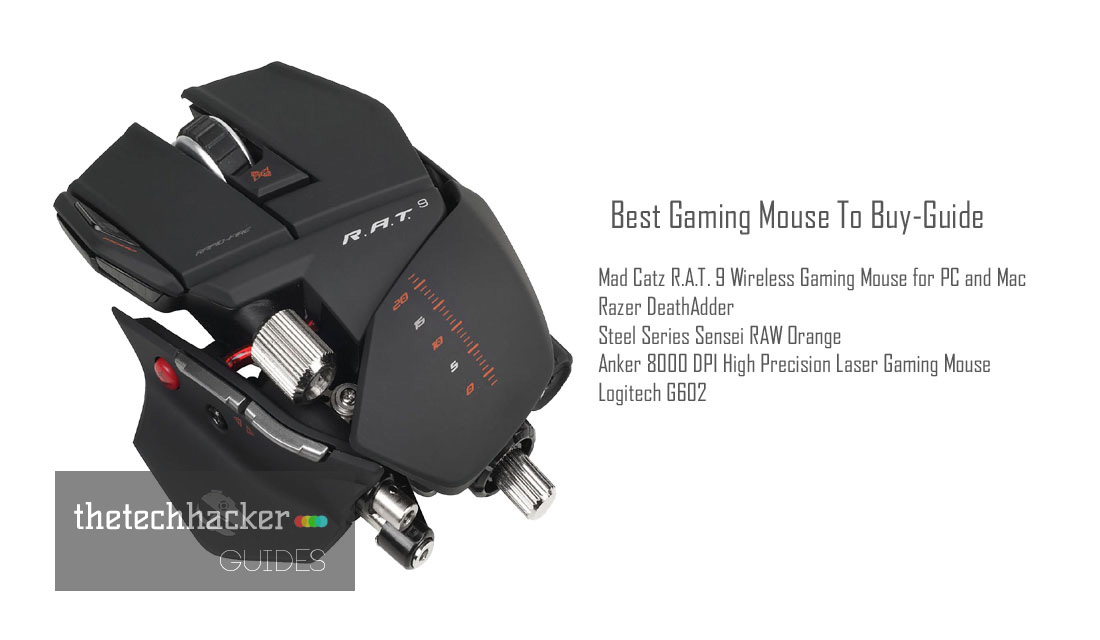 Best Gaming Mouse To Buy-Guide