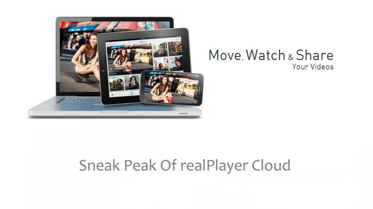Sneak Peak Of realPlayer Cloud