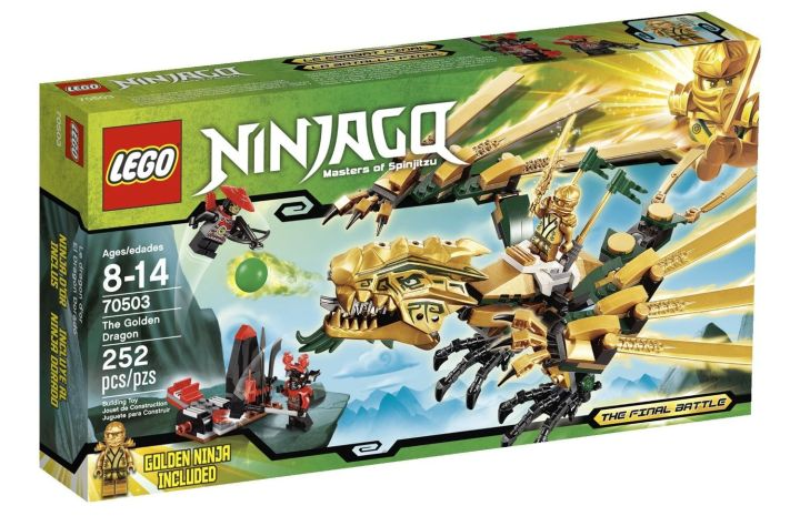 LEGO Ninjago The Golden Dragon 7050