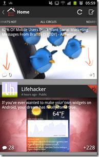 Google Plus - +1