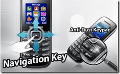 Samsung Pusha phone Nav