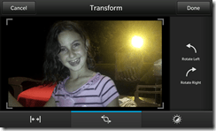 BlackBerry Z10 - Video Camera