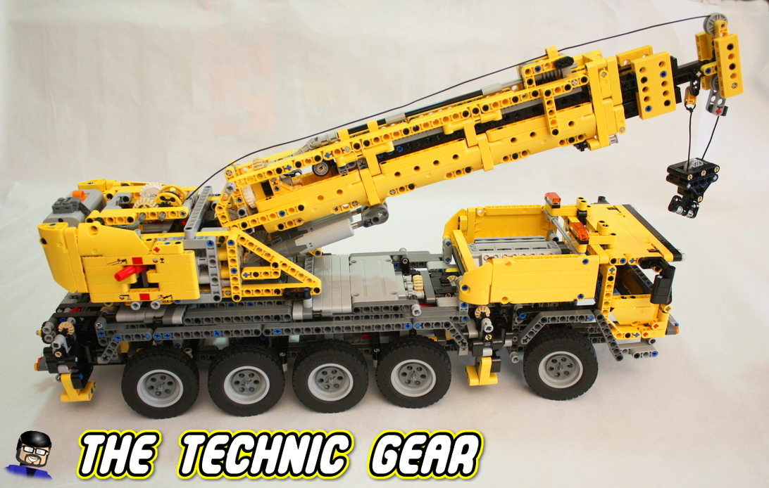 LEGO Technic 42009 Mobile Crane MKII Review - LEGO Reviews  Videos