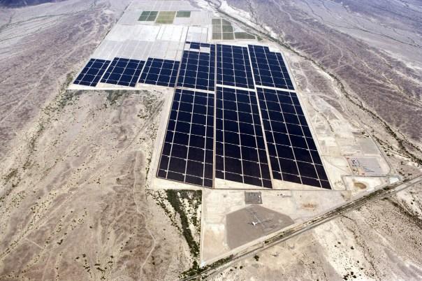 Amazon Solar Panel Farm