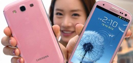 Pink Galaxy SIII