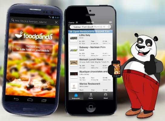 foodpanda mobile app image