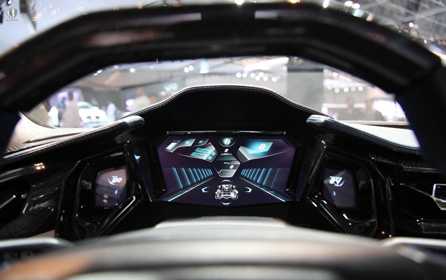 Car Dash Wallpaper Lykan Hypersport By W Motors Third Most Expensive Car