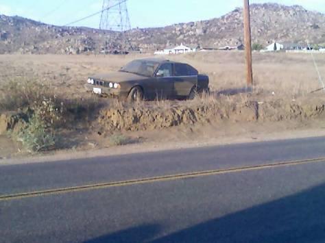 BMW Wreck