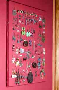 DIY Earring Holder for Studs (& Display Organizer) - Oh ...