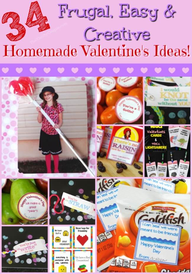 34 Homemade Valentine\u0027s Day Card Ideas - The Thrifty Couple