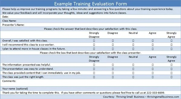 Time management log template excel, training presentation evaluation