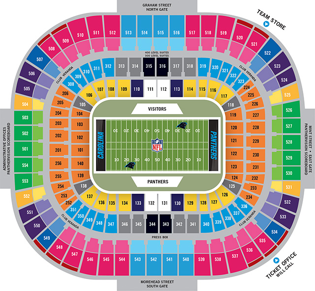 Carolina Panthers vs Green Bay Packers Tickets \u2013 December 17, 2017