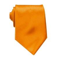Tangerine Solid Neck Tie - Shop Mens Ties Online | Ties ...
