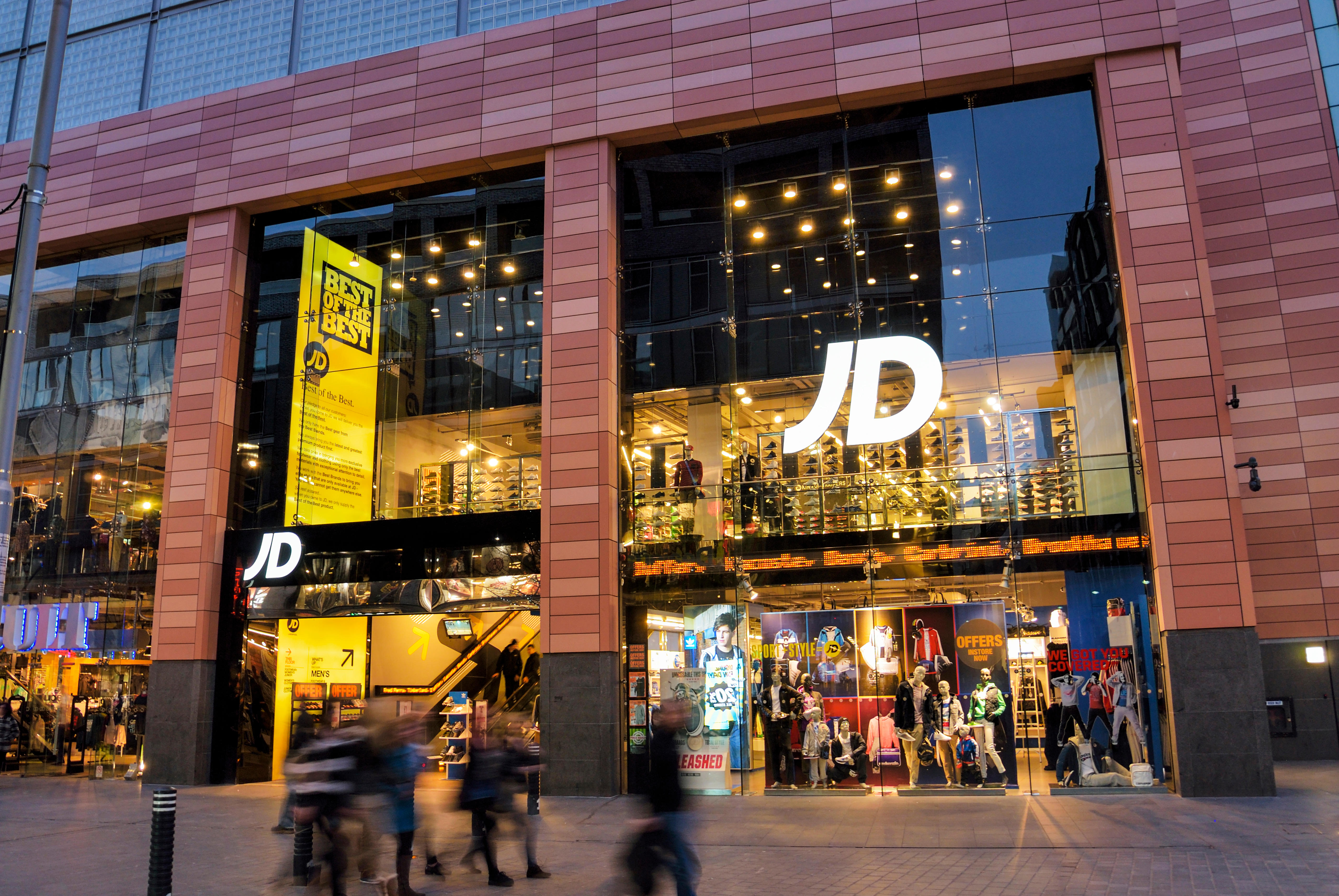 Jd Sports Vibrant Jd Sports Outpaces Competition Business The Times