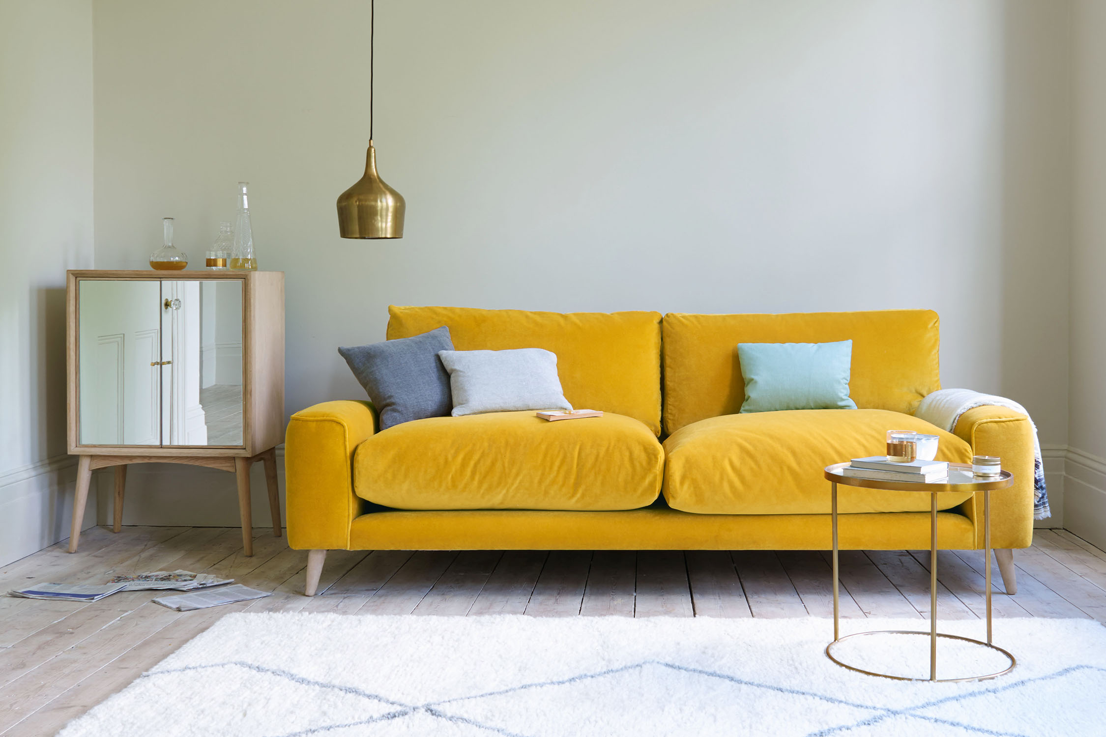 Habitat Sofa 2nd Hand 33 Colourful Sofas A Rainbow Review Of Aw18 Settees Home The