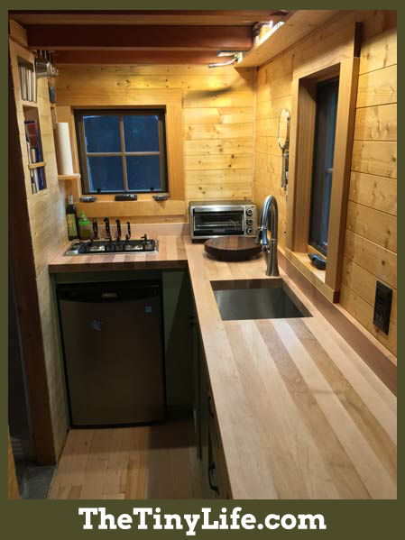 Ryan's Tiny House Kitchen