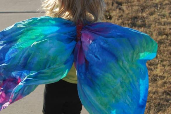 How to make Butterfly Wings | The TipToe Fairy